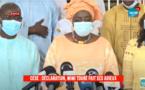 CESE: La déclaration de Mimi  Touré sur Leral TV