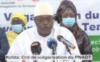 KOLDA - CRD DE VULGARISATION DU PNDAT AVEC LE MINISTRE OUMAR GUEYE (VIDEO)