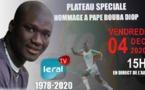 🔴EN DIRECT SUR LERAL TV  - Duplex AIBD / Plateau Spécial Hommage à Pape Bouba Diop