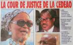 A la Une du Journal L'As du lundi 25 janvier 2013