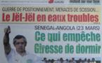 A la Une du Journal Walfadjri du mercredi 13 mars 2013