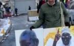 Insolite: Un « Toubab » vend des photos de Serigne Saliou sous la neige
