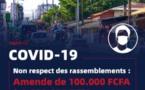 Lutte contre la Covid: 25.000 à 200.000 FCfa d'amende pour non port de masque, 100.000 à 5 millions pour ...