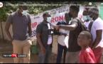 Madiène Fall, inspecteur départemental des Sports de Louga, félicite le mouvement Y en a marre et..