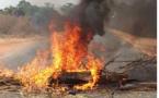 """Bignona: la route nationale barrée par les """"Sonkolés"""", deux manifestants arrêtés, l'Armée déployée"""