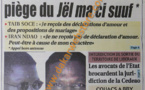 A la Une du Journal Grand Place du samedi 13 Avril 2013