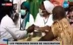 Début de la campagne de vaccination : Souleymane Ndéné Ndiaye,  El Hadji Mansour Mbaye aux côtés de Diouf Sarr