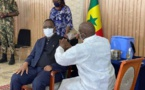 COVID19 AU SENEGAL - LE PRESIDENT MACKY SALL PREND SON VACCIN EN DIRECT - #LERALTV