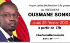 URGENT ! Audition Adji Sarr: Ousmane Sonko en Direct