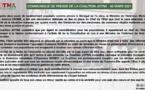 Communiqué de presse de la Coalition JOTNA du 06 Mars 2021