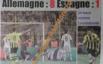 A la Une du Journal Waa Sports du jeudi 25 Avril 2013