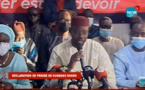 EN DIRECT / DECLARATION DE PRESSE DE OUSMANE SONKO SUR LERAL TV