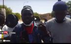 """Louga: Les forces de l'ordre ont encadré la marche des """"Pastefiens""""  et des membres de Y'en a marre"""