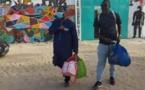 PHOTOS+VIDEO / Maison de correction de Sébikhotane: Sortie de prison d'Assane Diouf et Guy Marius Sagna