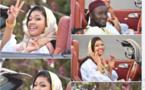 L'animatrice Yaye Awa toute joyeuse avec son ami Oustaz Modou Fall (Photos)