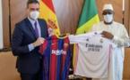 """Clasico Real vs Barça: Le Président Macky Sall serait-il un """"Merengue""""?"""