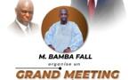 REPLAY SAINT-LOUIS :MEETING DE REMOBILISATAION  AVEC BAMBA FALL ( Publireportage )