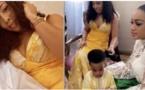 Bouba Ndour, sa femme et ses enfants en mode Korité (Vidéo)