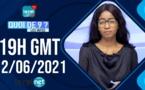 🔴QUOI DE 9 ? LES INFOS 19H GMT - CE 12/06/ 2021 - PR: THILO MAMADOU SAM- #LERALTV
