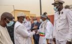 Actes d'une tournée économique : lancement officiel des travaux de 12 ponts du Daandé Mayo, inauguration du Lycée Hassan Sadio Diallo de Nguidjilone