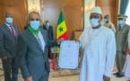 Fin de mission au Sénégal: Les adieux des ambassadeurs de Mauritanie et d'Israël au Président Macky Sall