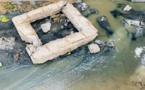 Actes de sabotage dans le réseau d'assainissement à Pikine rue 10: Les images d'un vandalisme sans nom