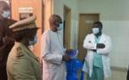 Accident sur la route de Fatick : Abdoulaye Diop, le maire de Sédhiou, au chevet des victimes