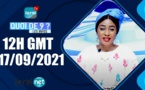 QUOI DE 9 ? LES INFOS 12H GMT - CE 17/09/ 2021 - PR: FATIMA COULIBALY - #LERALTV