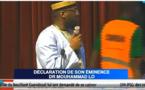EN DIRECT GRAND THEATRE : Dr. Muhammad Ahmad Lo s'adresse aux Sénégalais