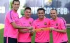 Barça: Les joueurs ont choisi leurs 4 capitaines