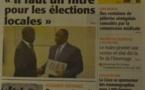 A la Une du Journal Le Soleil du mercredi 01 octobre 2014