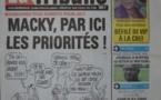 A la Une du Journal La Tribune du mardi 14 octobre 2014