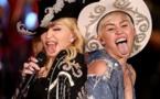 """Madonna, sa déclaration à Miley Cyrus sur Instagram : """"Bitch I love you !"""""""