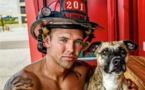 Des hommes à croquer et des animaux trop mignons, ce nouveau calendrier de pompiers va mettre le feu !
