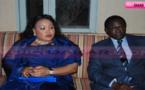 Le Président Pape Diop en compagnie de sa femme