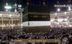 Une vidéo rare montrant le changement de tissu (la kiswah) qui recouvre la Kaaba