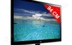 A vendre un lot de télévision Lg écran plat  94 cm