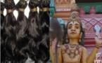 Vidéo- Le Saviez-Vous ?: Les cheveux naturels sont des offrandes faites à des dieux dans des temples en Inde