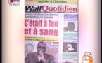 Revue de presse  du 08 Février 2016 TFM