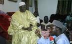 La délégation de Karim Wade à Keur Mame El Hadji Barro Ndiéguène