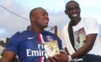 Pape Diouf séduit les stars de l'arène de la lutte sénégalaise