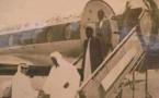 Photo inédite de Serigne Mouhamadou Mourtada Mbacké à la descente d'un avion