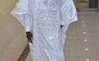 Birane Ndour en boubou traditionnel