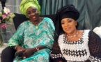 Mado Diaw prend la pose avec l'ancienne Premier ministre