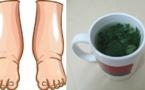 Cet excellent thé est le meilleur remède naturel contre les jambes enflées