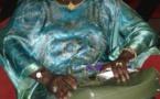 Mimi Touré dans une tenue ultra élégante