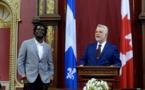 Boucar Diouf devient chevalier de l'Ordre national du Québec