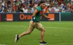Le supporter qui a fait peur à Cristiano Ronaldo