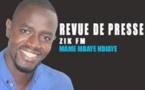 Revue de presse du vendredi 29 juillet 2016 - Mame Mbaye Ndiaye
