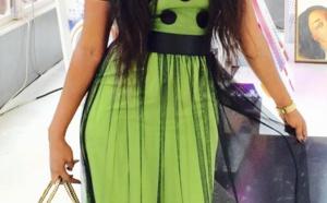 Kya Aïdara de la TFM et sa  magnifique robe!!